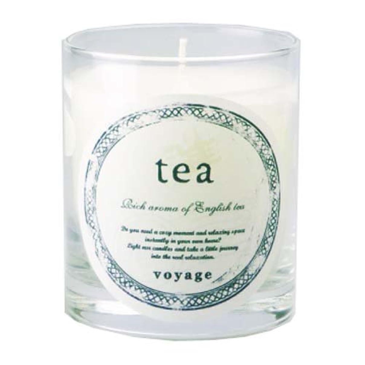 ぎこちないおもしろい香りvoyage アロマキャンドル ティー