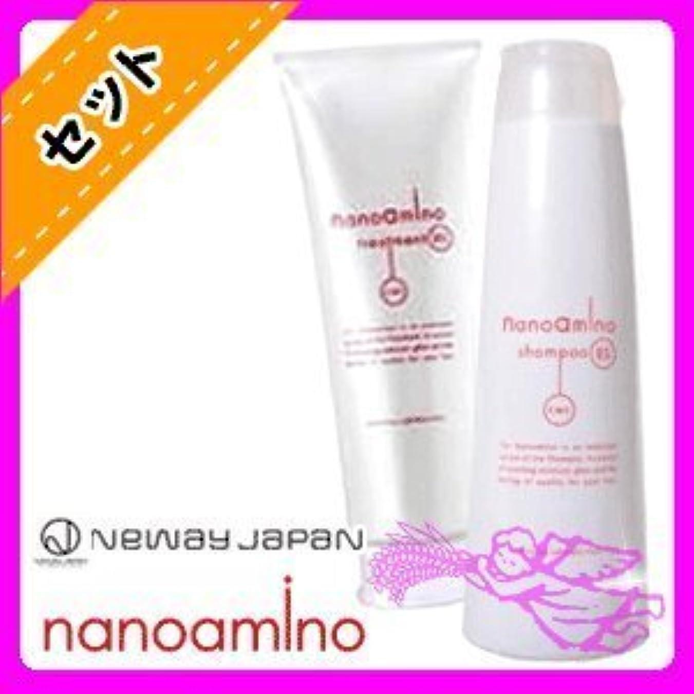 スラム化粧品ナノアミノ シャンプー RS 250mL & トリートメント RS 250g セット ニューウェイジャパン nanoamino