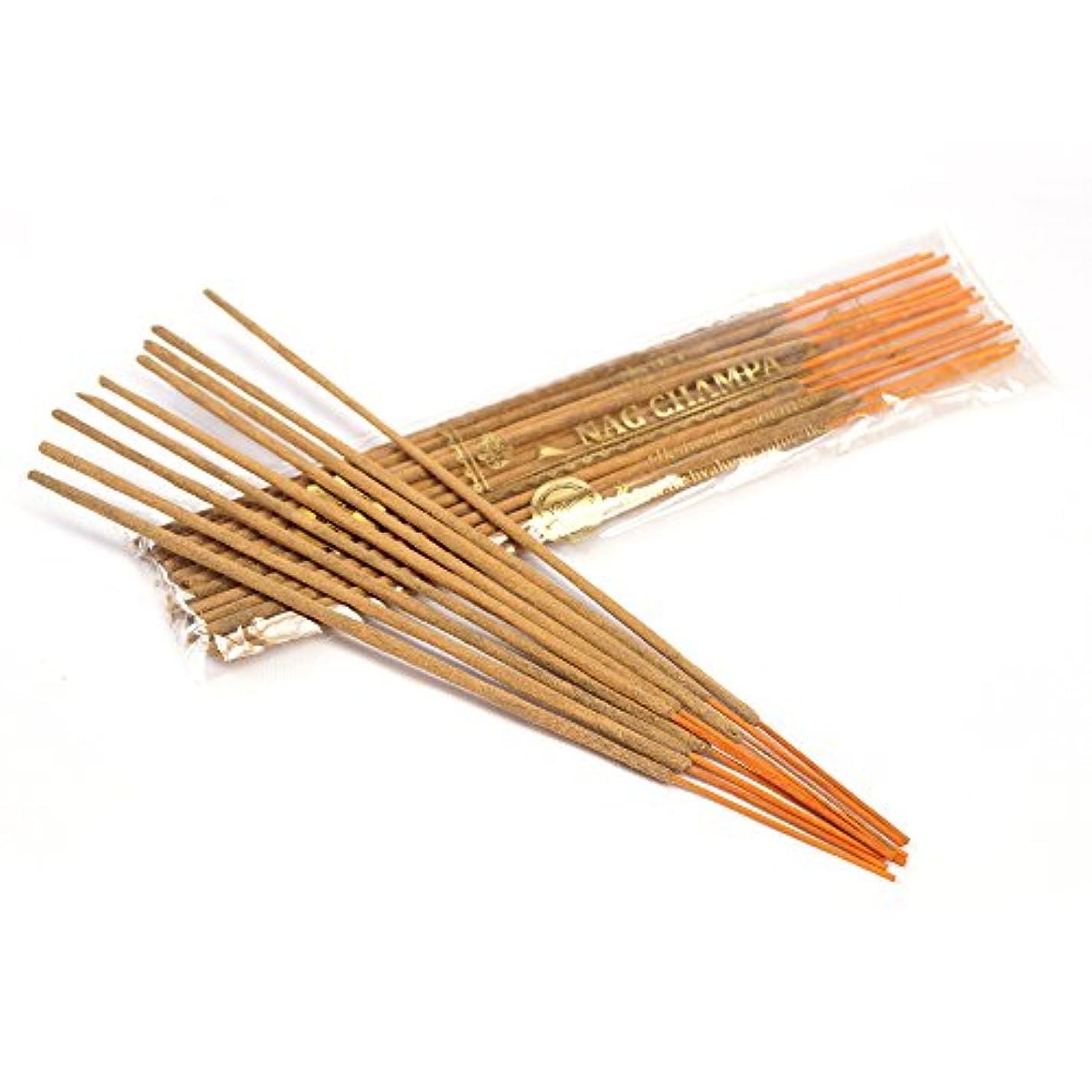 放牧するゴールドコンペNag Champa Incense Sticks 250