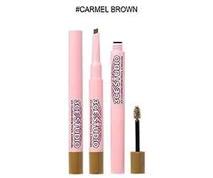 3CE STUDIO COLORING BROW PENCIL & MASCARA #carmel brown / スタジオ カラーリング ブラウン ペンシル&マスカラ #カメルブラウン [並行輸入品]