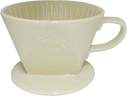 RoomClip商品情報 - カリタ コーヒードリッパー 陶器製 2~4人用 ホワイト 102-ロト #02001