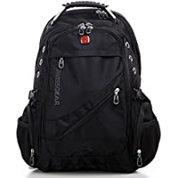 "Wenger Swissgear 15.6"" Laptop Backpack Bag W/ Mp3 Headphone Connection Sa1418"