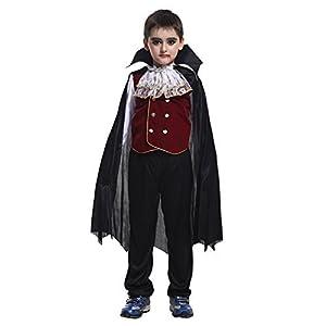 子ども用 ヴァンパイア コスプレ衣装 フルセット (M) 110cm-120cm