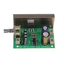 IPOTCH TDA2030 モノラル アンプ ボード 20W AC12-24V  モジュールボード