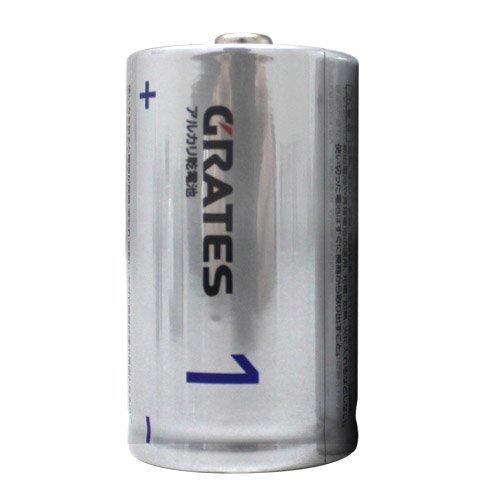 アルカリ乾電池 単1形 2本...