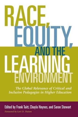 Download Race, Equity, and the Learning Environment: The Global Relevance of Critical and Inclusive Pedagogies in Higher Education 1620363402