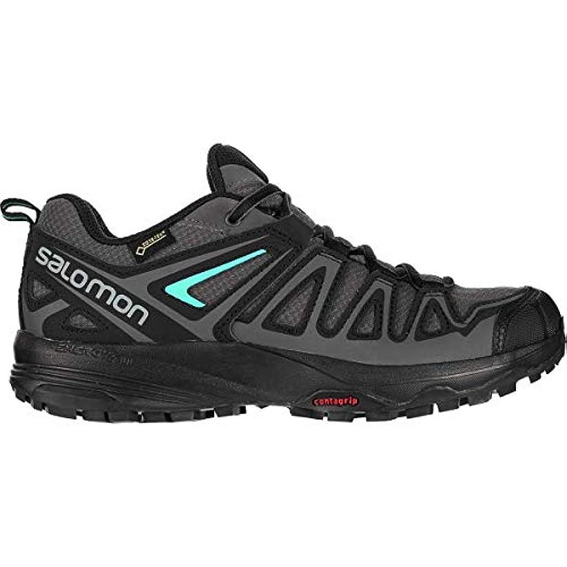 柔らかい配管再発する[サロモン] レディース ハイキング X Crest GTX Hiking Shoe - Women's [並行輸入品]
