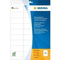 HERMA 4430ホワイト宛名ラベル