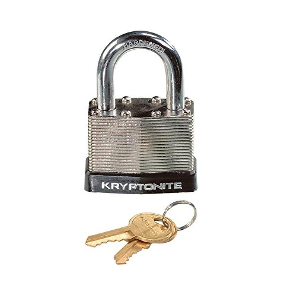 精神医学アクセサリー何KRYPTONITE(クリプトナイト) スチール パッドロック シルバー LKW14800