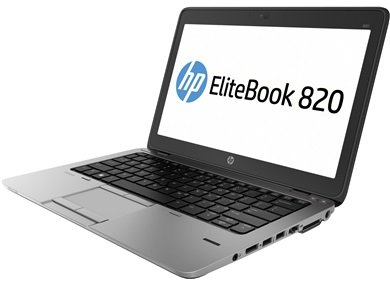 【中古】 HP EliteBook 820G1 F9D90PP#ABJ / Core i5 4200U(1.6GHz) / HDD:320GB / 12.5インチ / ブラック