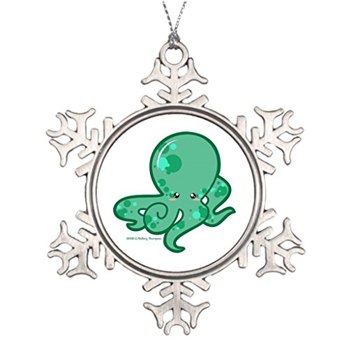 sammaskクリスマス木オクトパスレトロ装飾クリスマススノーフレークOrnaments