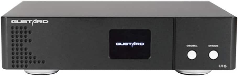GUSTARD U16 ES8620 PCM32bit / 768K DSD512 DOPネイティブDSD USBデジタルインターフェイス (黒)