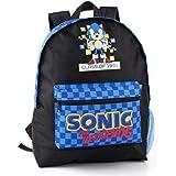 Sonic The Hedgehog Retro Style Boy's Kids Gaming Backpack Rucksack