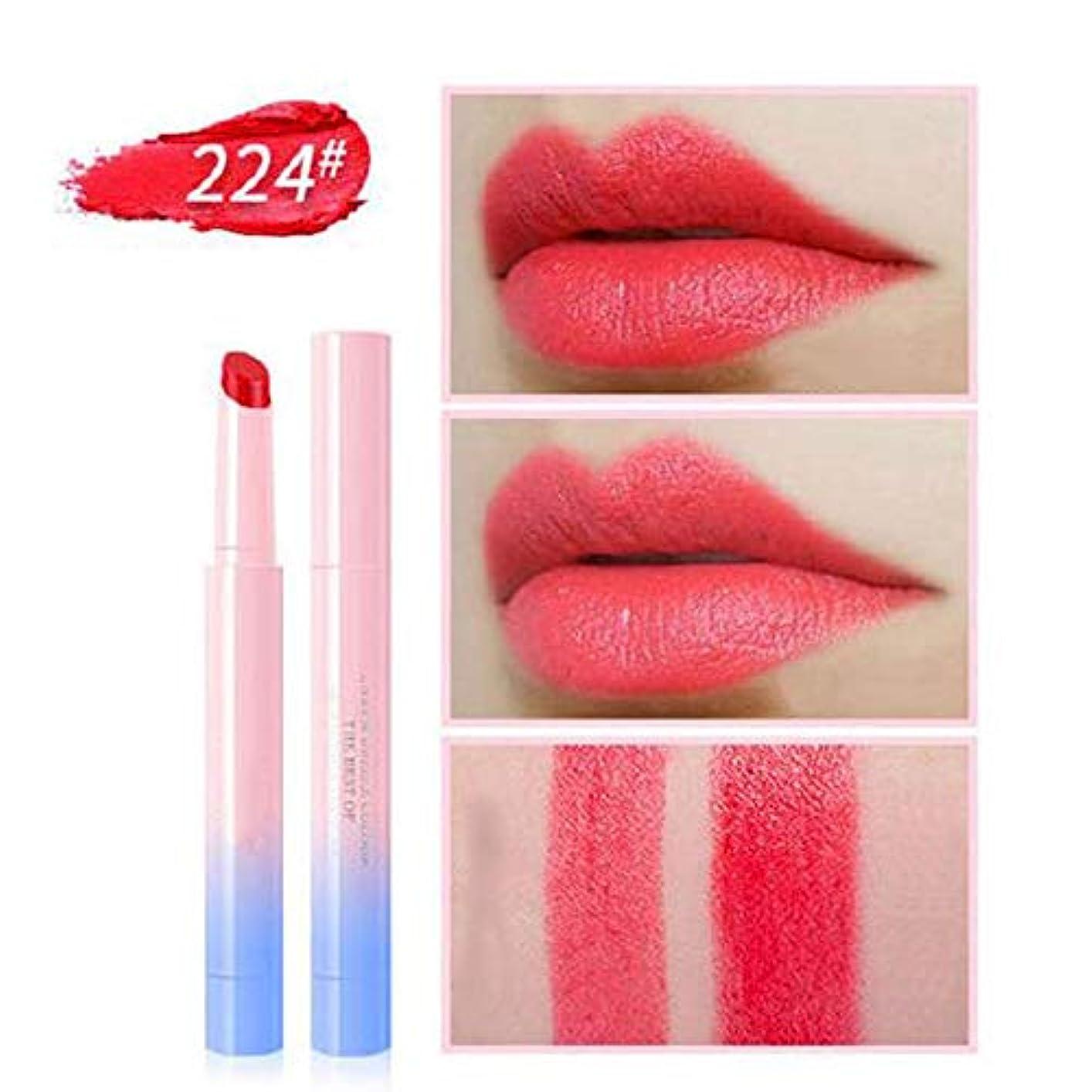 にやにやステージコンテストFGUL口紅リップグロスファッションマルチカラー女性保湿ビロードの口紅