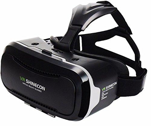 VR SHINECON VRゴーグル ヘッドセット i B01JZTCMG6 1枚目