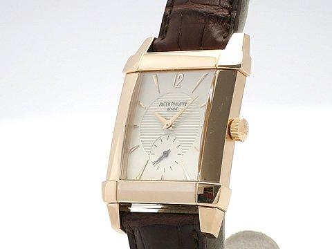 (パテック フィリップ)PATEK PHILIPPE 腕時計 ゴンドーロ K18RG/革 5111R-001 中古