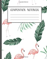 Composition Notebook: Graph Paper Notebook 200+ Page , 100+ Sheets Composition 7.5 in x 9.25 in, School Supply, Green Leaf Theme