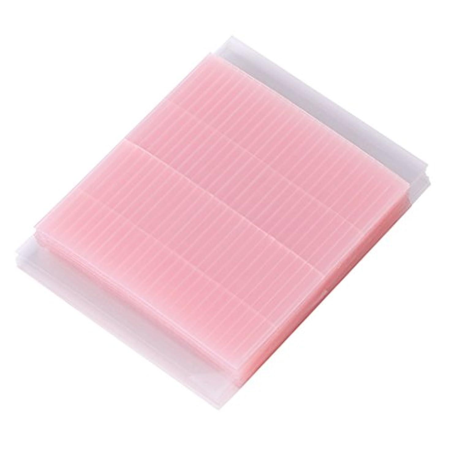 イチゴ魅力的拷問Lamdoo 50ピース見えない繊維二重まぶたの粘着ステッカーテープ技術的なアイテープ