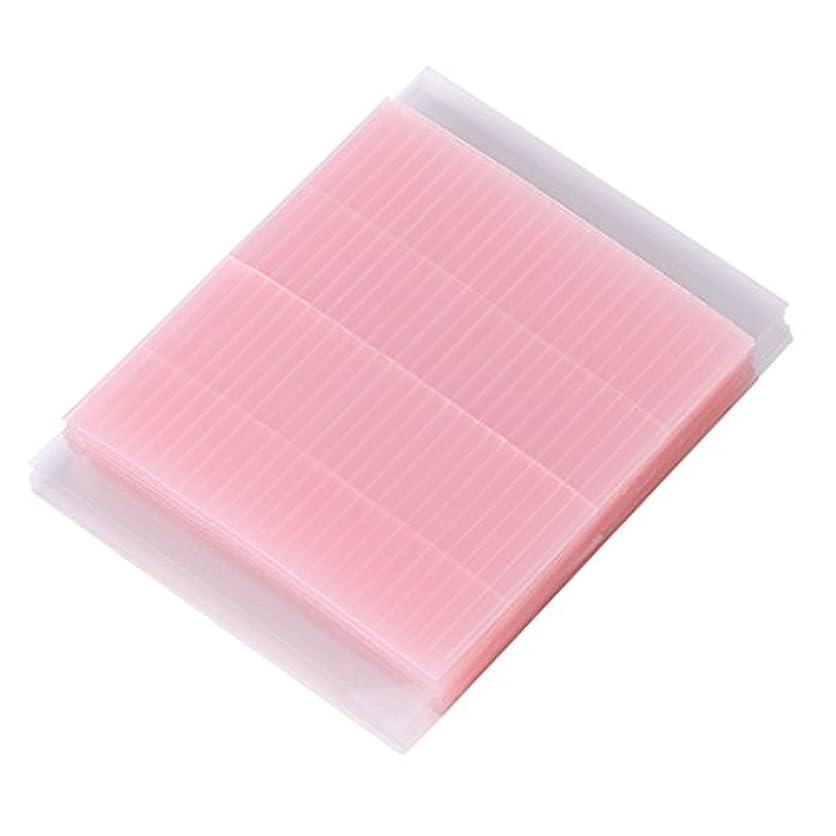 アクチュエータ刻む費用Lamdoo 50ピース見えない繊維二重まぶたの粘着ステッカーテープ技術的なアイテープ
