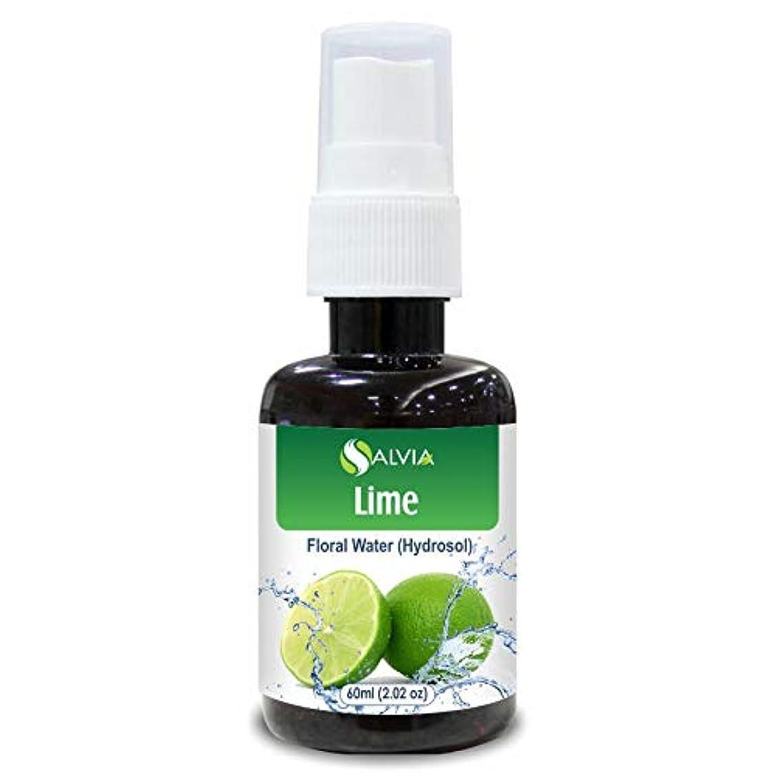 インゲン約束する成長Lime Floral Water 60ml (Hydrosol) 100% Pure And Natural