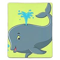 マウスパッド かわいいクジラ漫画 ゲームパッド ゲームプレイマット