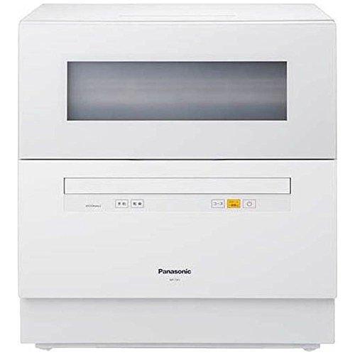 パナソニック 食器洗い乾燥機 (ホワイト) (NPTH1W)...