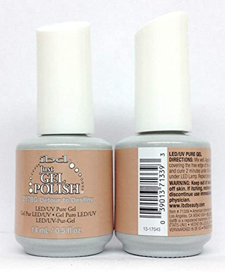ハンバーガー毒液危険なibd Just Gel Polish - Serengeti Soul Collection - Detour To Destiny - 14ml / 0.5oz