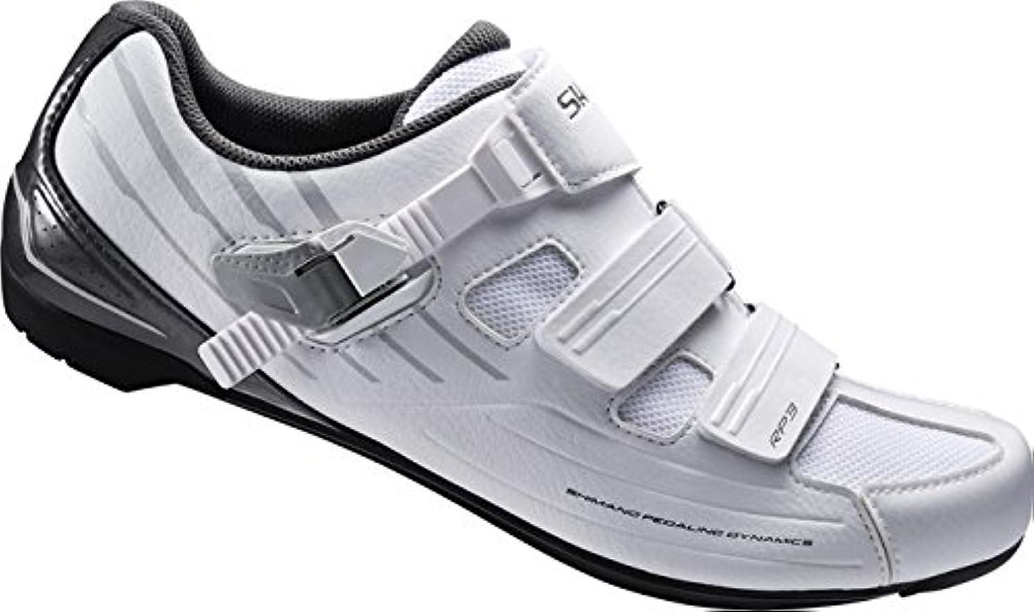 防腐剤能力祖母[シマノ] ビンディングシューズ SH-RP300MW ホワイト 47(29.8cm)?50(31.8cm) メンズ SPD 靴