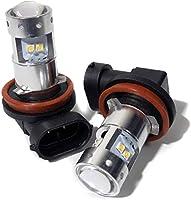 オデッセイ RB LED フォグライト ホンダ H11 40W ライト ランプ ジャップ製 2個セット ホワイト