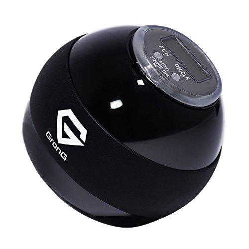 GronG(グロング) スピンボール リストトレーナー デジタルカウンター LED搭載