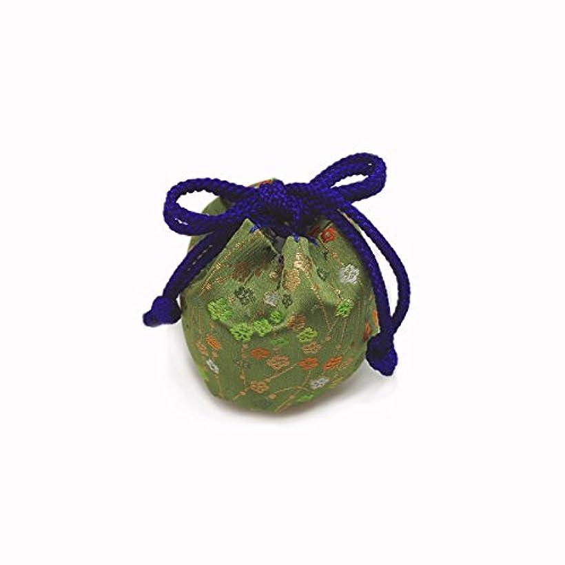 行動フルーツ野菜誤解する御所袋 小 キンラン 緑系