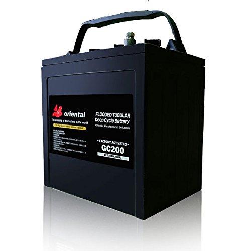 ゴルフカートバッテリー/高所作業車/スィーパー/業務用掃除機用バッテリー [ oriental GC200 ] GSユアサ GC...