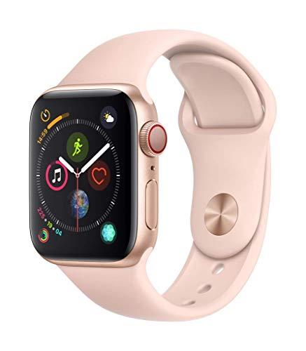 AppleWatch Series4(GPS+Cellularモデル)- 40mmゴールドアルミニウムケースとピンクサンドスポーツバンド