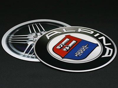 ALPINA BMW マウスパッド エンブレムデザイン 215mm(写真右) アルピナ