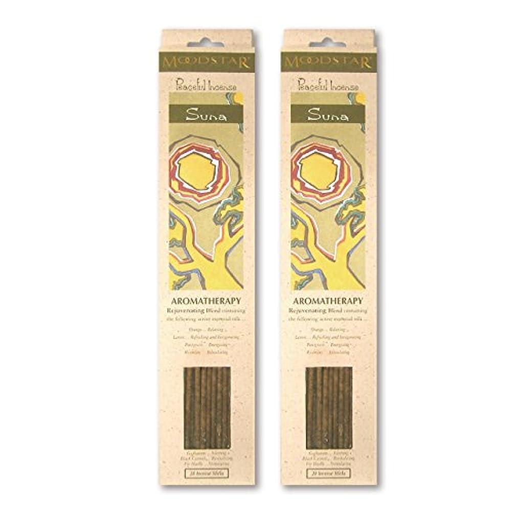 毎回床を掃除する商業のMOODSTAR ムードスター Suna スーナ お香 20本 X 2パック (40本)