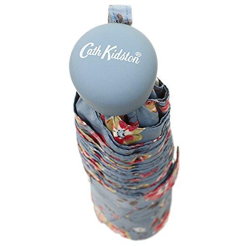 (キャスキッドソン) Cath Kidston キャスキッドソン 折りたたみ傘 CATH KIDSTON L768 3230 MINILITE UMBRELLA THORP FLOWERS アンブレラ SKY BLUE [並行輸入品] CathKidston