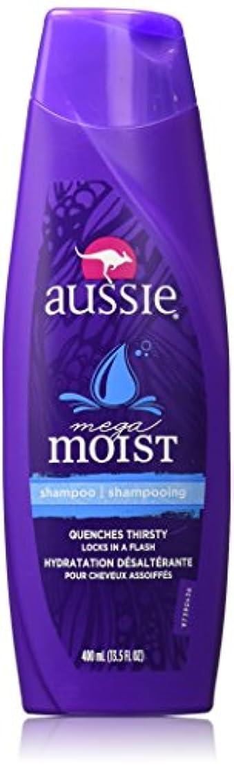 ガム書士過度にAussie Moist Shampoo 400 ml (3-Pack) (並行輸入品)