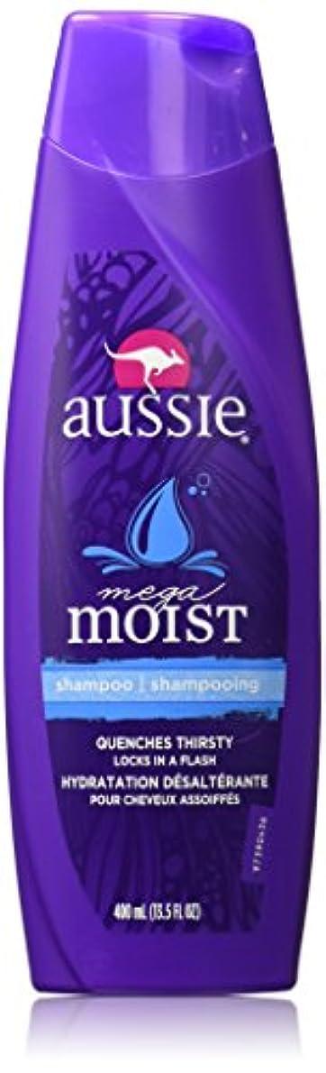 火星失礼な容赦ないAussie Moist Shampoo 400 ml (3-Pack) (並行輸入品)
