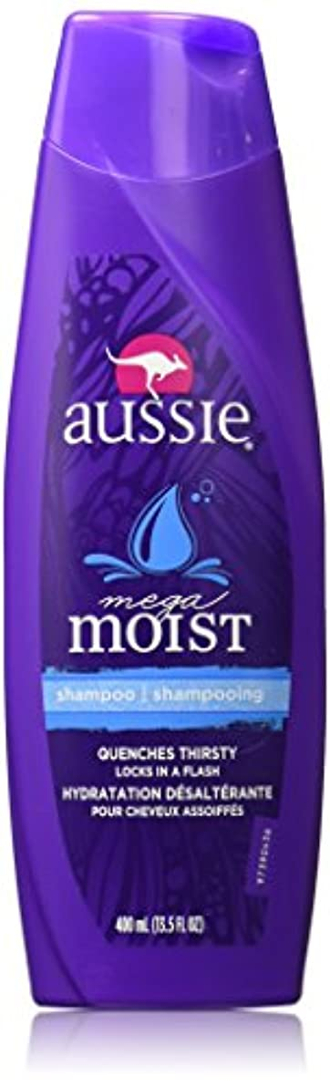傷跡深さ範囲Aussie Moist Shampoo 400 ml (3-Pack) (並行輸入品)