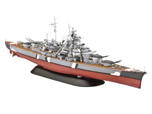 ドイツレベル 戦艦 ビスマルク 1/700 R05098