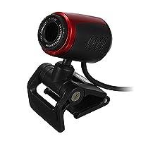 HD Webカメラ–SODIAL ( R ) USB 2.0HD WebカメラWebカメラビデオカメラConマイクfor PCラップトップデスクトップWin 7