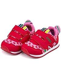 [イフミー] IFME 女の子 男の子 キッズ ベビー 子供靴 運動靴 通学靴 ベビーシューズ スニーカー 限定モデル ストラップ クッション性 抗菌 カジュアル デイリー スクール 学校 30-8771