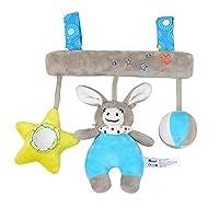 ベビー ベッド ハンギング メリー 音楽 ぶら下げ ぬいぐるみ 赤ちゃん 赤ちゃん ベビーカー ベビー用おもちゃ 知育玩具 プレゼント
