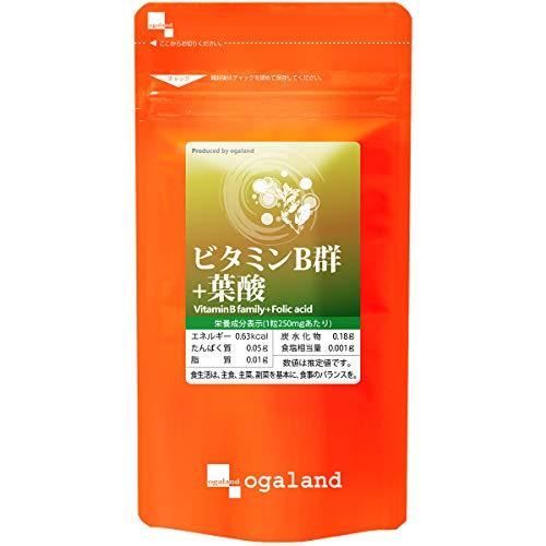 お徳用ビタミンB群+葉酸 270粒/約3ヶ月分