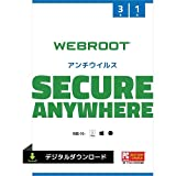 【amazon.co.jp限定】Webroot SecureAnywhere アンチウイルス(最新) 1台3年版 オンラインコード版