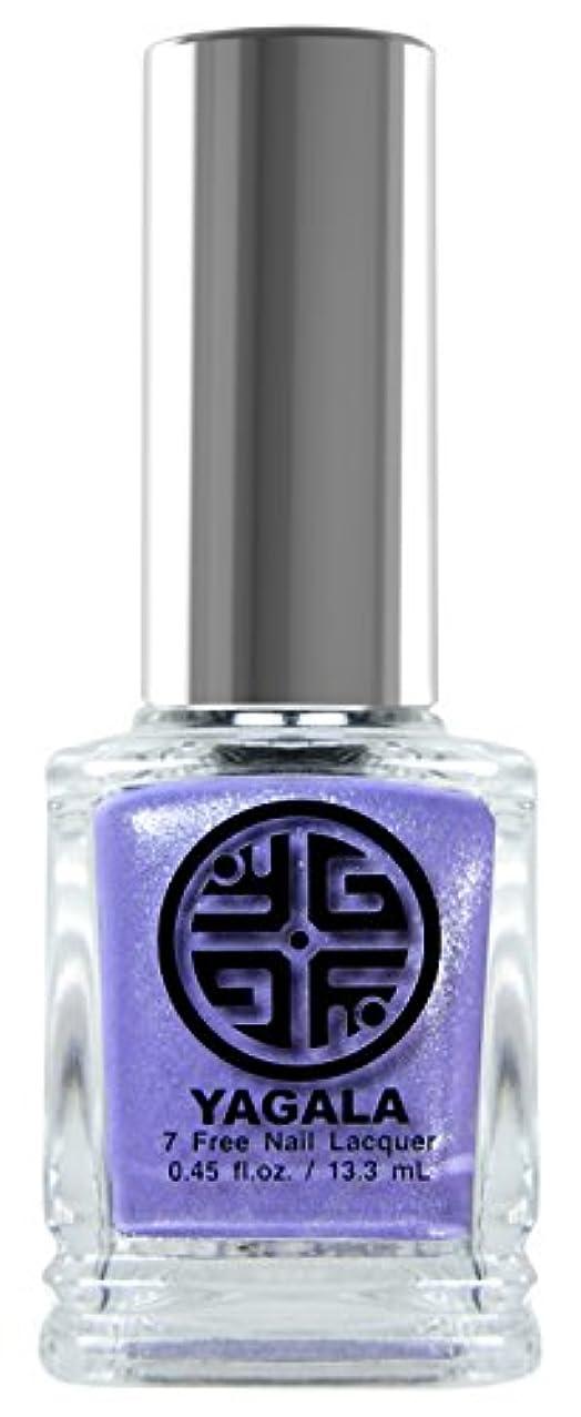YaGaLa ネイルラッカー043Russian Lilac グリッターシアー