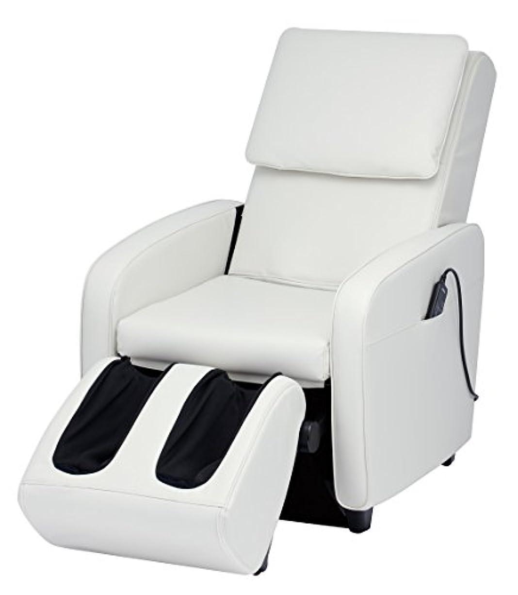 賭けオーラル値スライヴ マッサージチェア エスフィット CHD-7401W ホワイト 正規品 ソファスタイル おしゃれ
