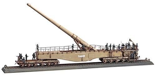 ハセガワ 1/72 ドイツ陸軍 ドイツ列車砲K5 E レオポルド w/フィギュア プラモデル MT58