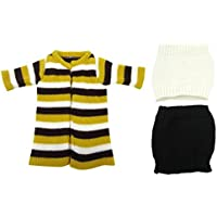 SONONIA  ストライプ セーター コート  ストラップレス チューブトップ & ドレス 18インチアメリカンガールドール用