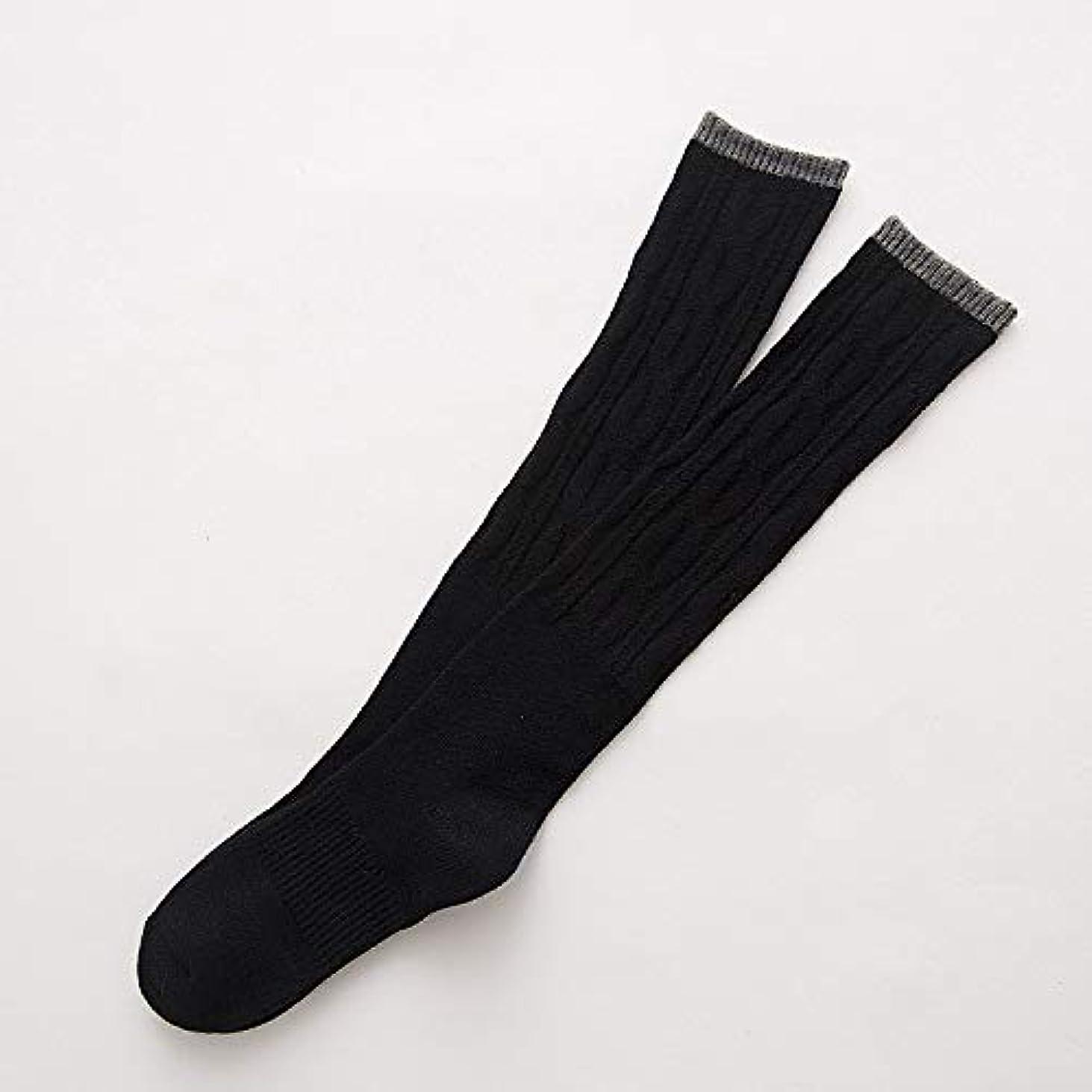 鳴らす願う無線靴下の秋と冬のブーツの山のレトロなハイチューブは、膝の上に女性の靴下を厚く、ウサギのカシミヤの靴下